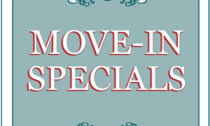 End of Summer Move-in Specials!
