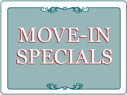 Spring/Summer Move-in Special!